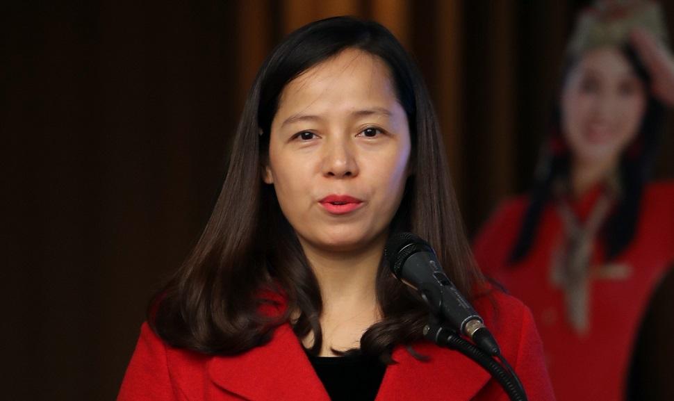 Nguyen Thi Thuy Binh, VietJet vice-president in ch