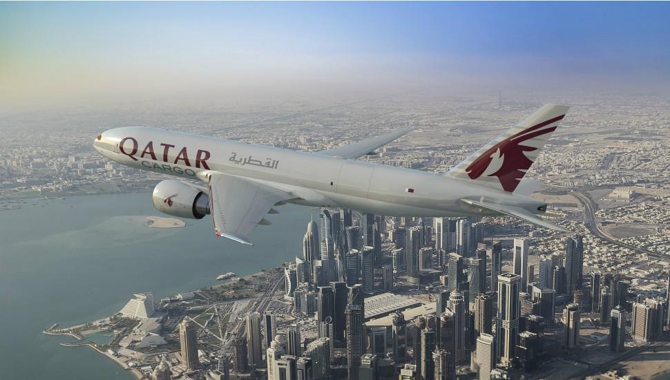 Qatar 777F Boeing.