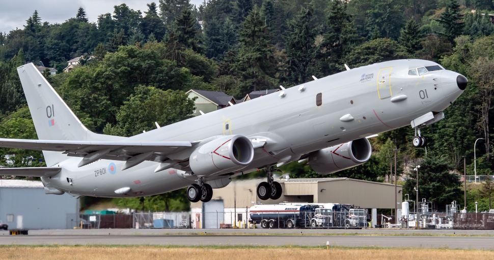 RAF P-8 debut –Boeing