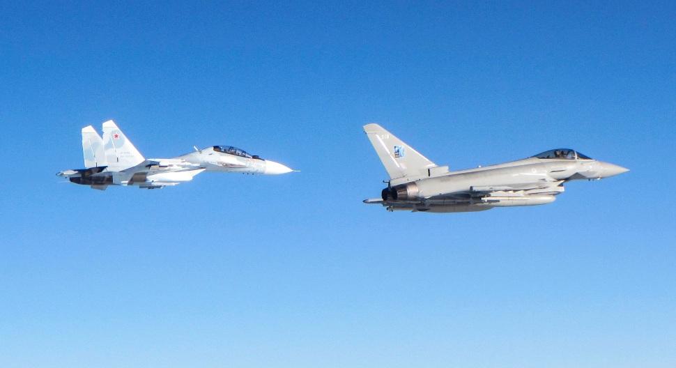 RAF Typhoon Meteor QRA - Crown Copyright