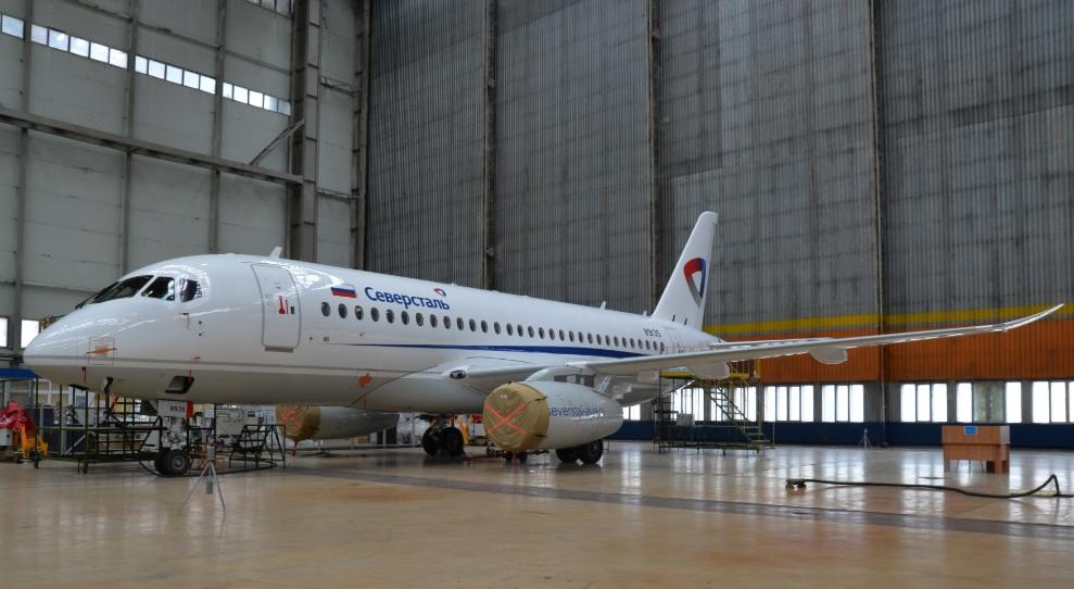 Severstal Sukhoi Superjet winglets