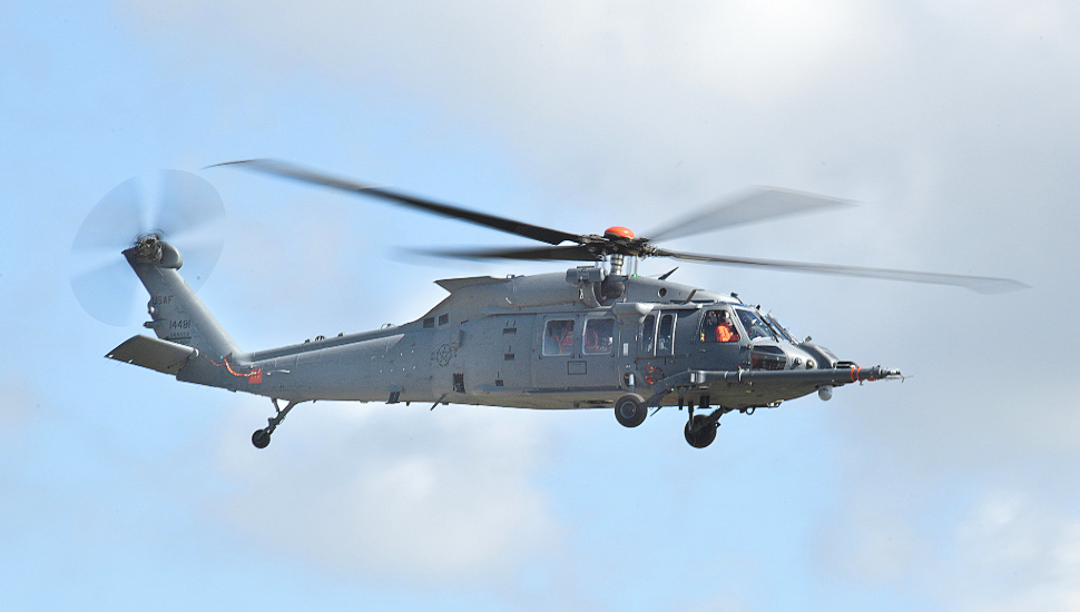 Sikorsky HH-60W first USAF flight