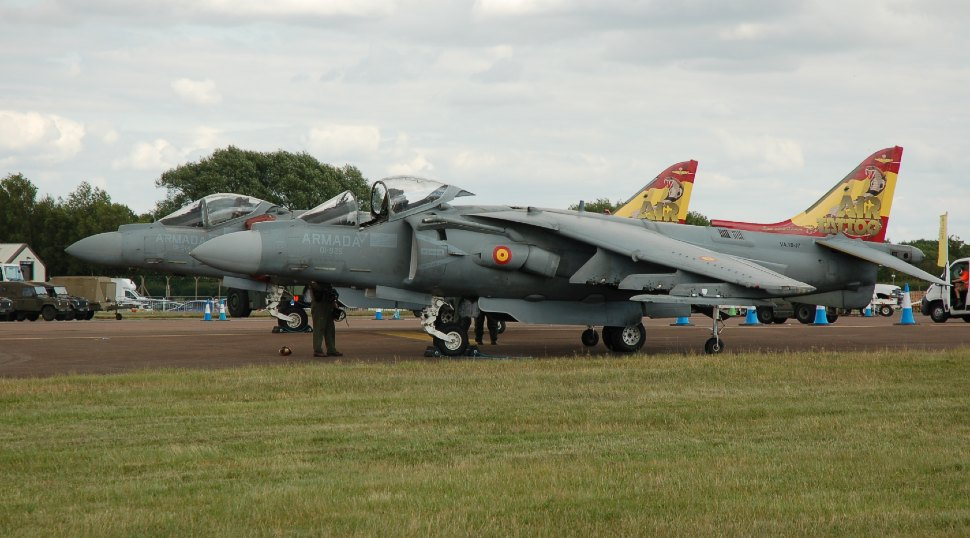 Spanish navy AV-8Bs RIAT 2019 - Craig Hoyle/Flight