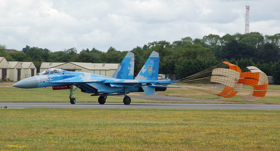 Su-27 Ukraine RIAT 2019 - Craig Hoyle/FlightGlobal