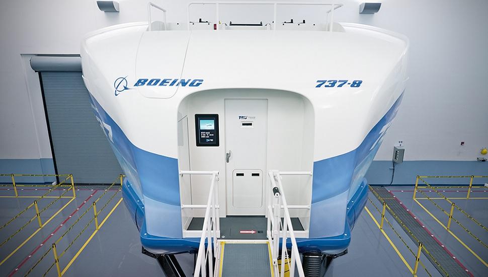 Tru Sim 737Max simulator