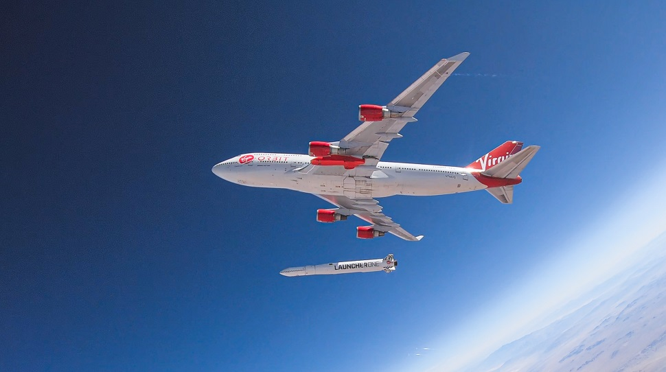 Virgin Orbit drop test