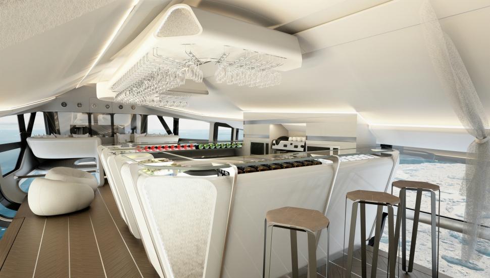 Airlander VIP interior