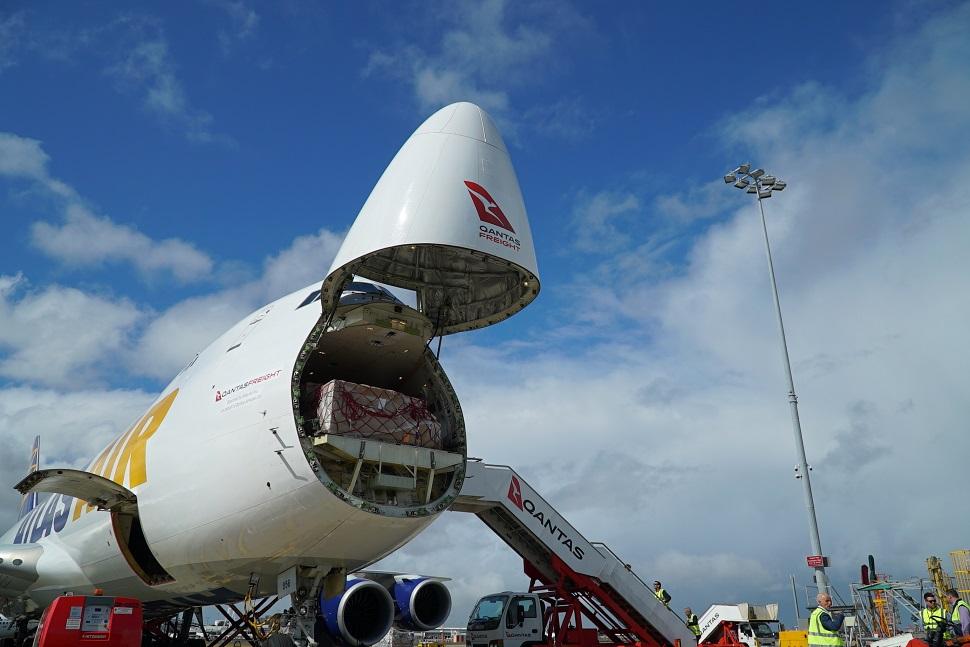 Atlas Air Qantas Freight 747-8F