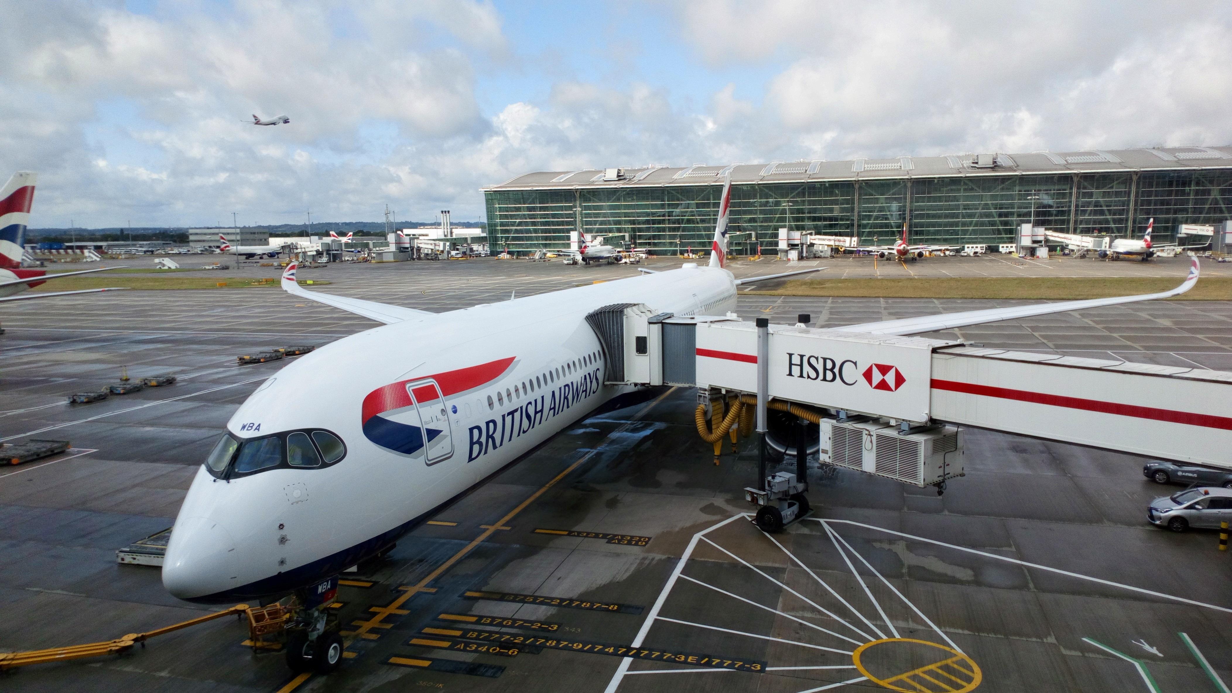 BA A350-1000 inaugural