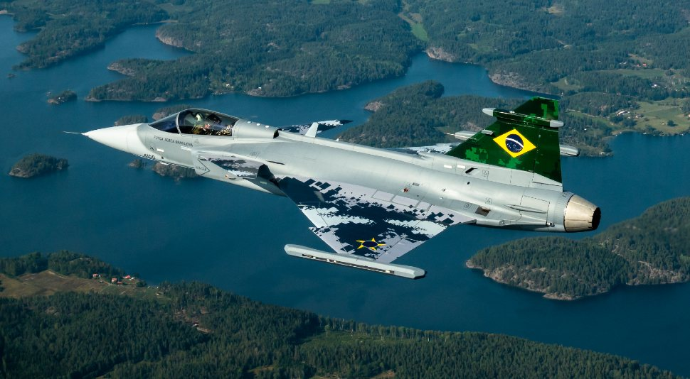 Brazilian Gripen E - Saab