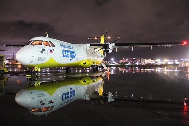 Cebgo ATR 72-500 converted freighter