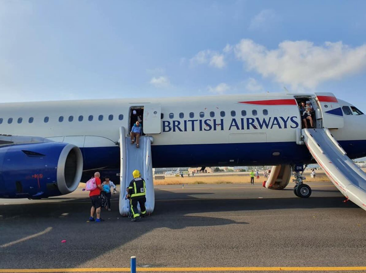 Evacuated BA A321 suffered 'technical issue' on ap