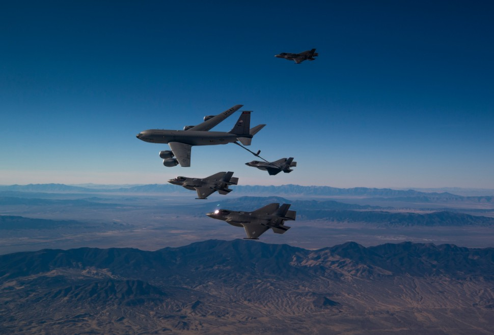 F-35 refuelling excercise c USAF