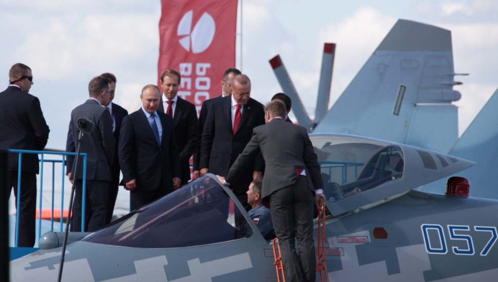 Putin and Erdogan examin Su-57