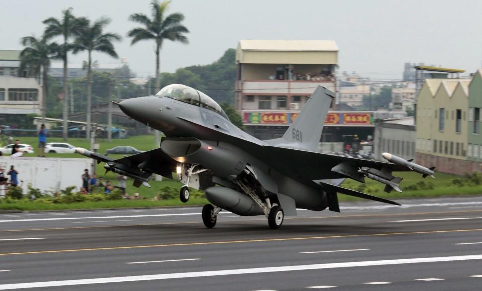 Taiwan F-16 - Patrick Aventurier/SIPA/Shutterstock