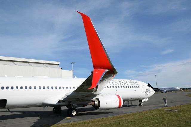 Virgin Australia 737-800 split scimitar