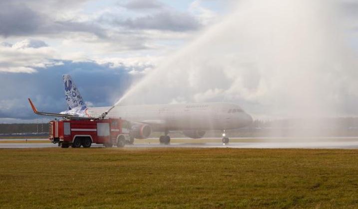 Aeroflot A321 Sheremetyevo third runway
