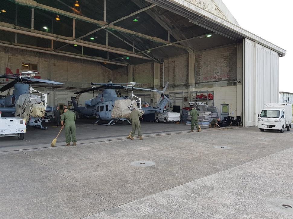 AH-1Z, UH-1Y Okinawa