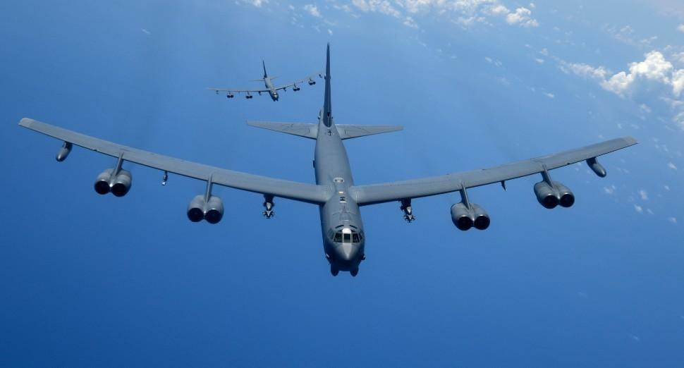 B-52 pair - US Air Force