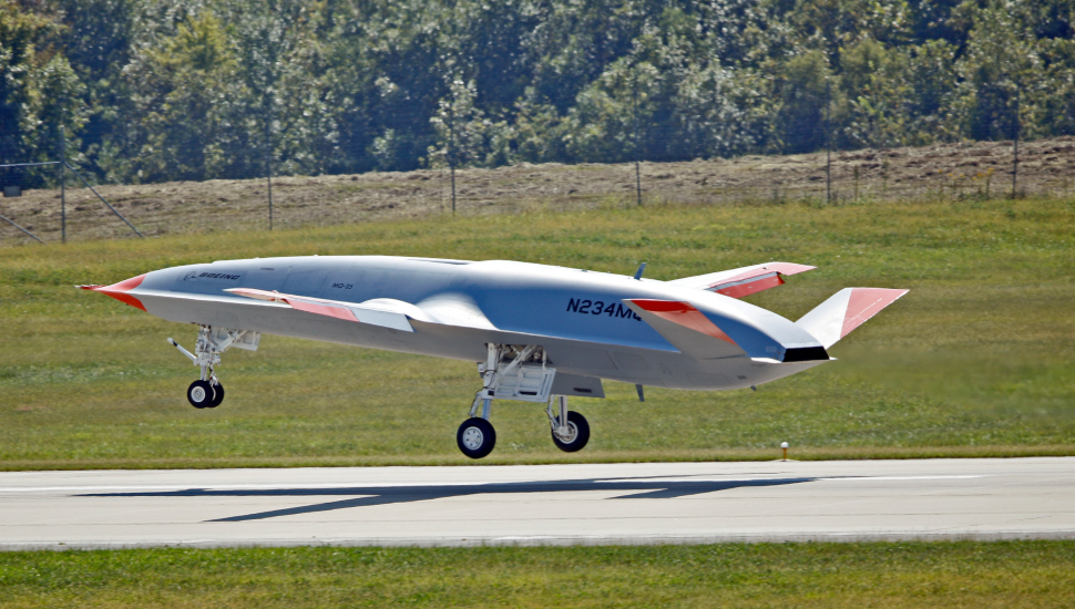 Boeing MQ-25A first flight 1