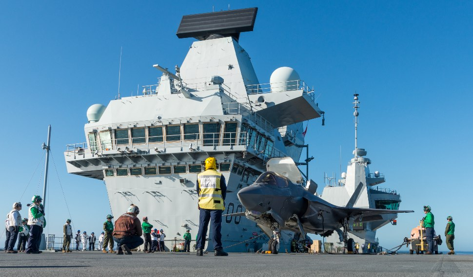 F-35B HMS Queen Elizabeth - Lockheed Martin