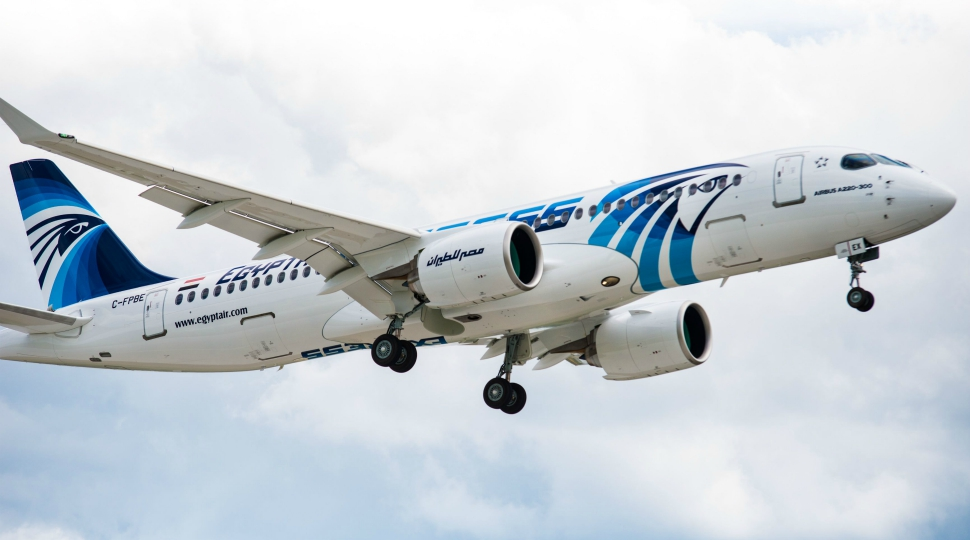 First Egyptair A220