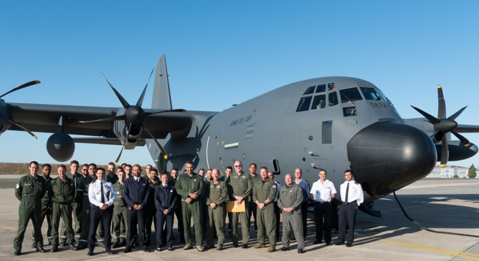 French KC-130J delivery - French air force