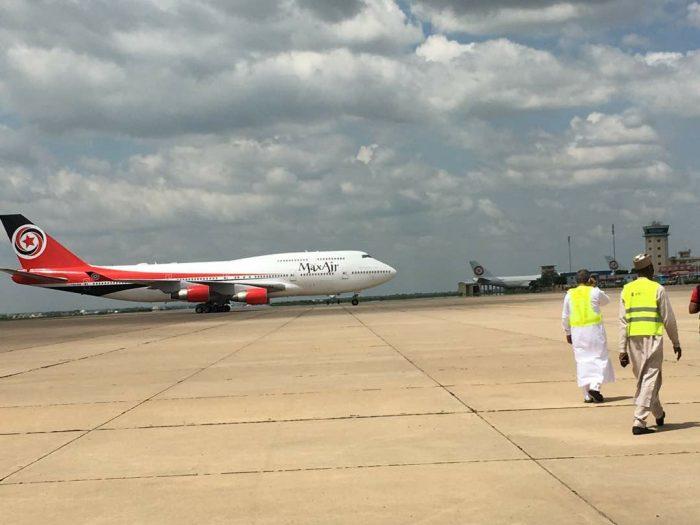 Max Air Boeing 747-400