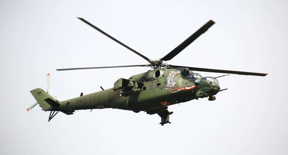 Mi-24 Poland -  Jakob Ratz/Pacific Press via ZUMA