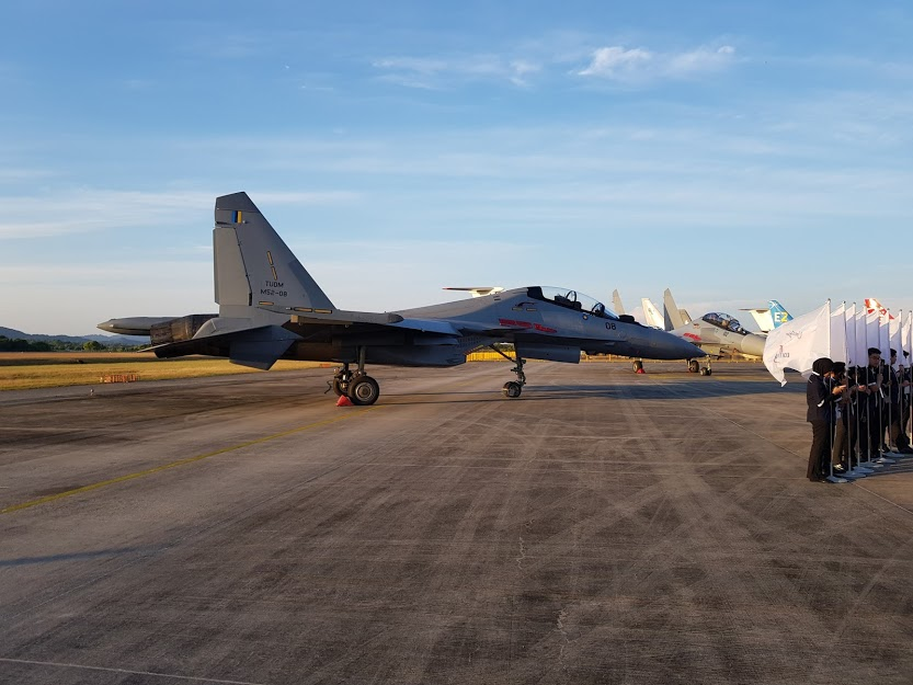 RMAF Su-30MKM