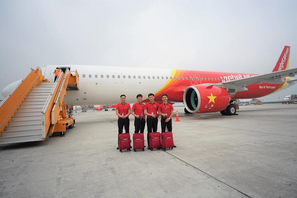 Vietjet A321 cabin flex