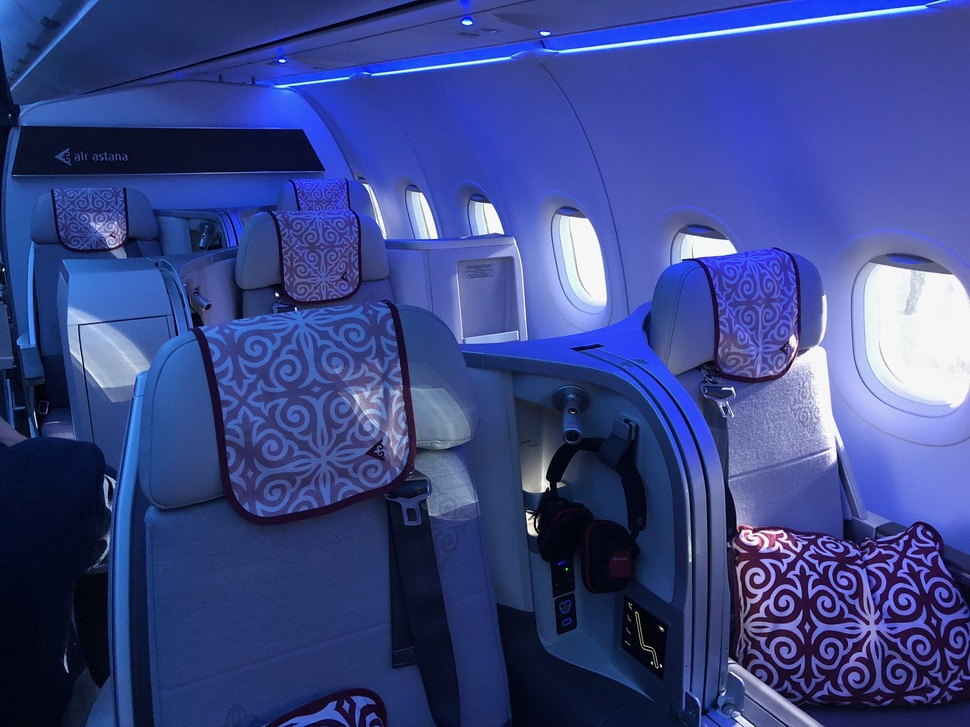 AirAstana A321LR BusinessClass
