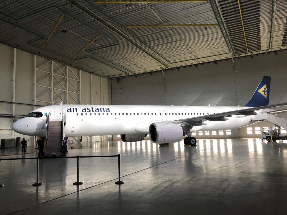 AirAstana A321LR TSE 2