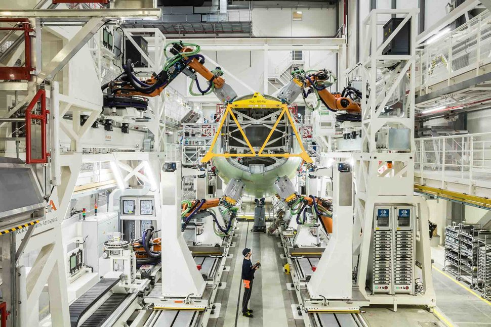 Airbus assembly robots