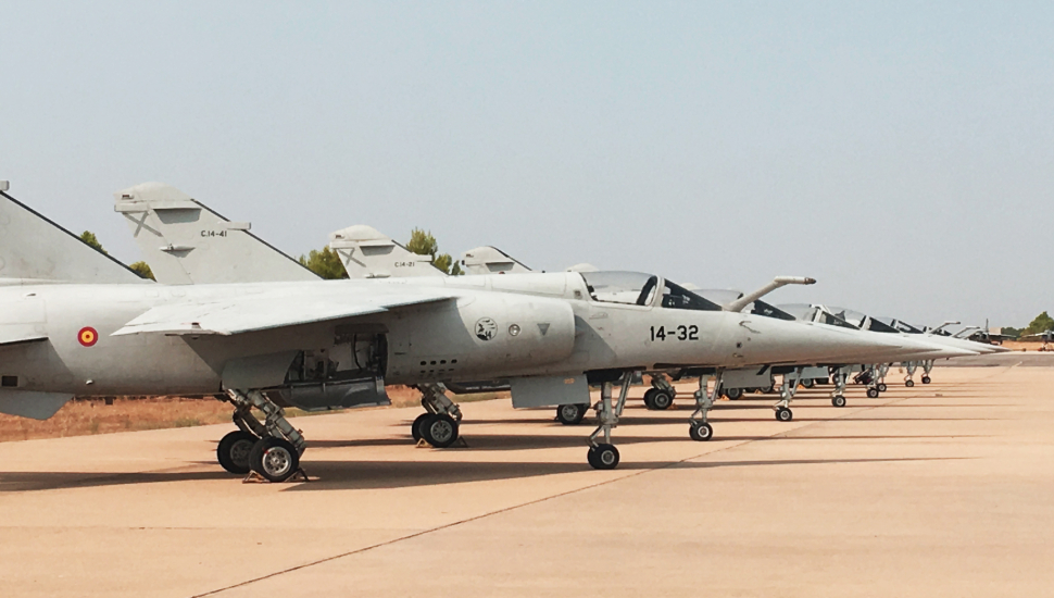 Draken International Mirage F1M bought from Spanis