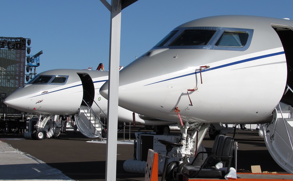 Gulfstreams at NBAA Las Vegas