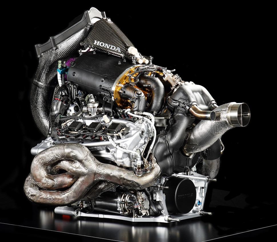 Honda Formula 1 power unit c Honda-970