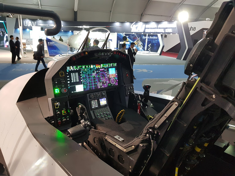 K-FX cockpit mockup