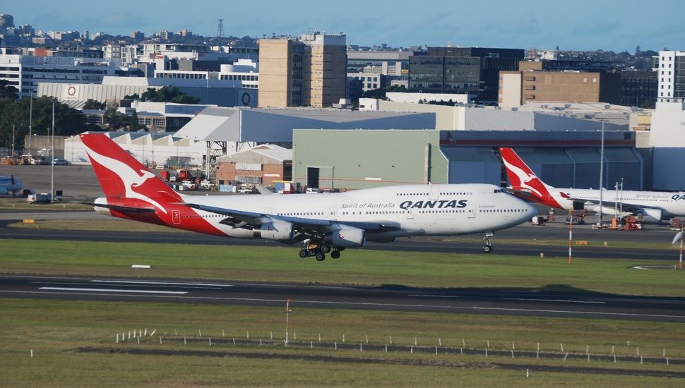 R-R flying testbed Qantas 747-400