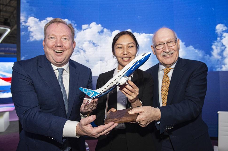 Air Astana Max signing Dubai