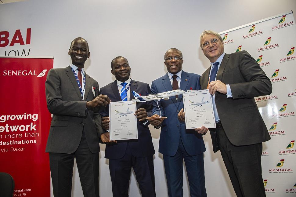 Air Senegal A220 signing