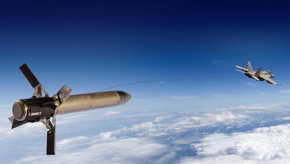 BAE Systems towed decoy rendering