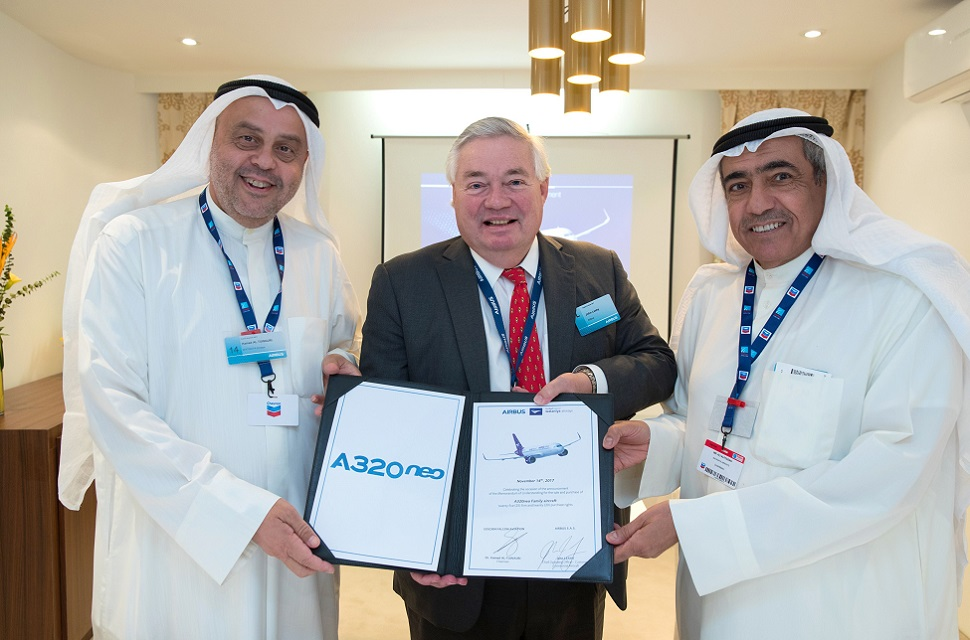 Dubai air show 2017 Wataniya A320neo