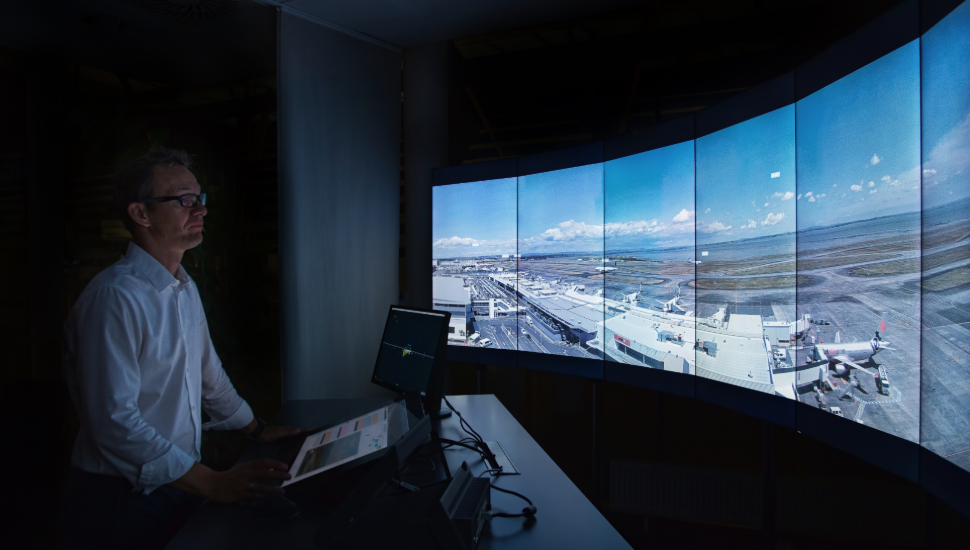 Frequentis remote virtual tower