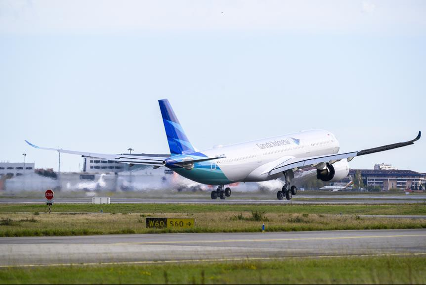 Garuda A330neo - Pic by Airbus