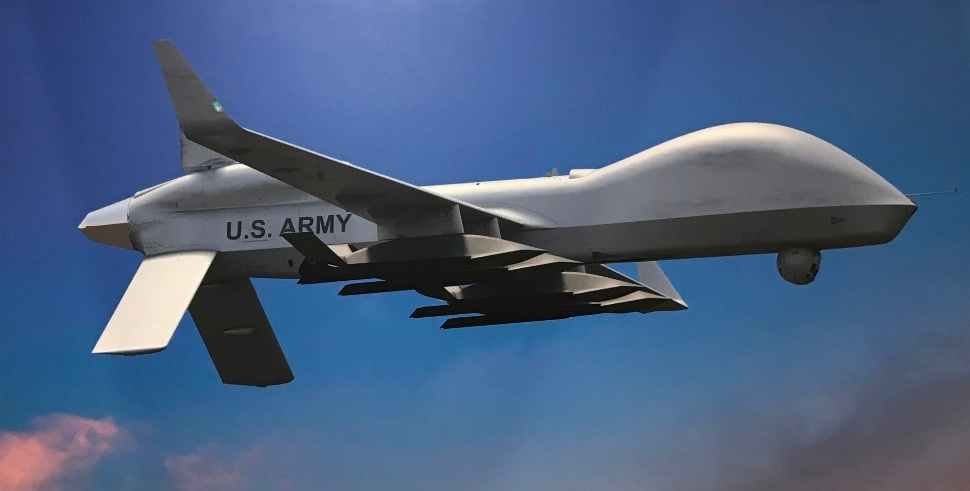 Gray Eagle with effectors - Garrett Reim/FlightGlo