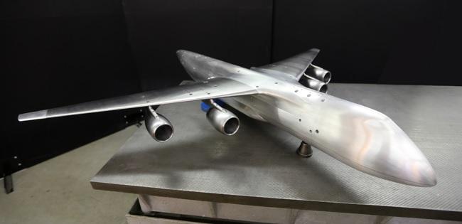 Slon aerodynamic model