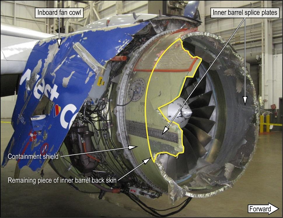 Southwest 737 CFM56 1390
