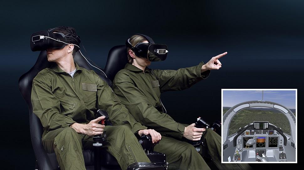 CAE Virtual Reality trainer